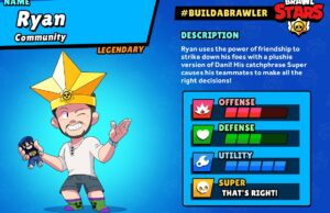 Ryan, el community manager convertido a brawler de Brawl Stars