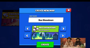 Supervivencia Dúo Map Maker de Brawl Stars