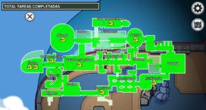 The Airship guía mapa Among Us