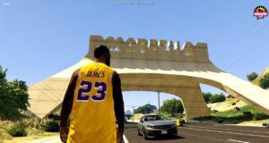 LeBron James en Marbella Vice