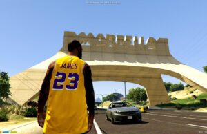LeBron James en Marbella Vice