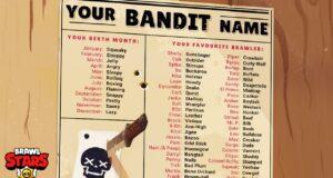La lista de bandidos, en Brawl Stars