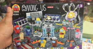 El LEGO fake de Among Us