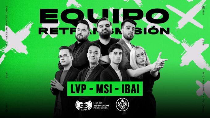 Ibai Llanos vuelve a la LVP