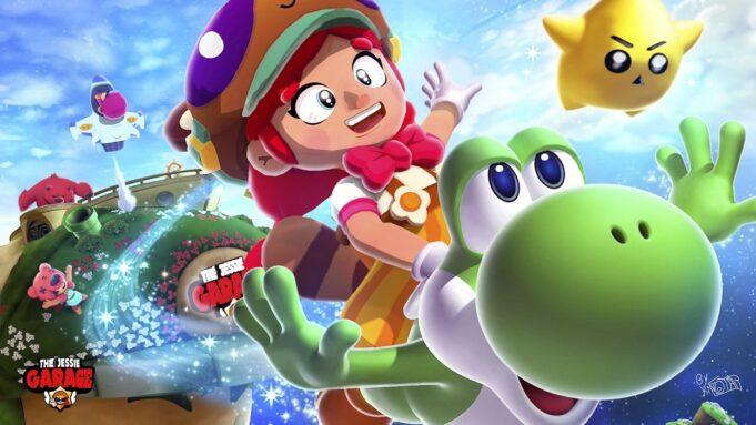 Jessie a lo Mario Bros