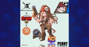 Penny, la skin de Brawl Stars con Piratas del Caribe