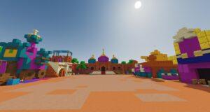 El Bazar de Tara, en Minecraft