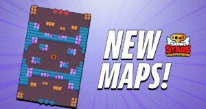 Los nuevos mapas de Brawl Stars en el BSC