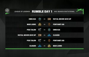Rumble, la nueva fase del MSI 2021