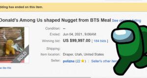 Among Us nugget ebay