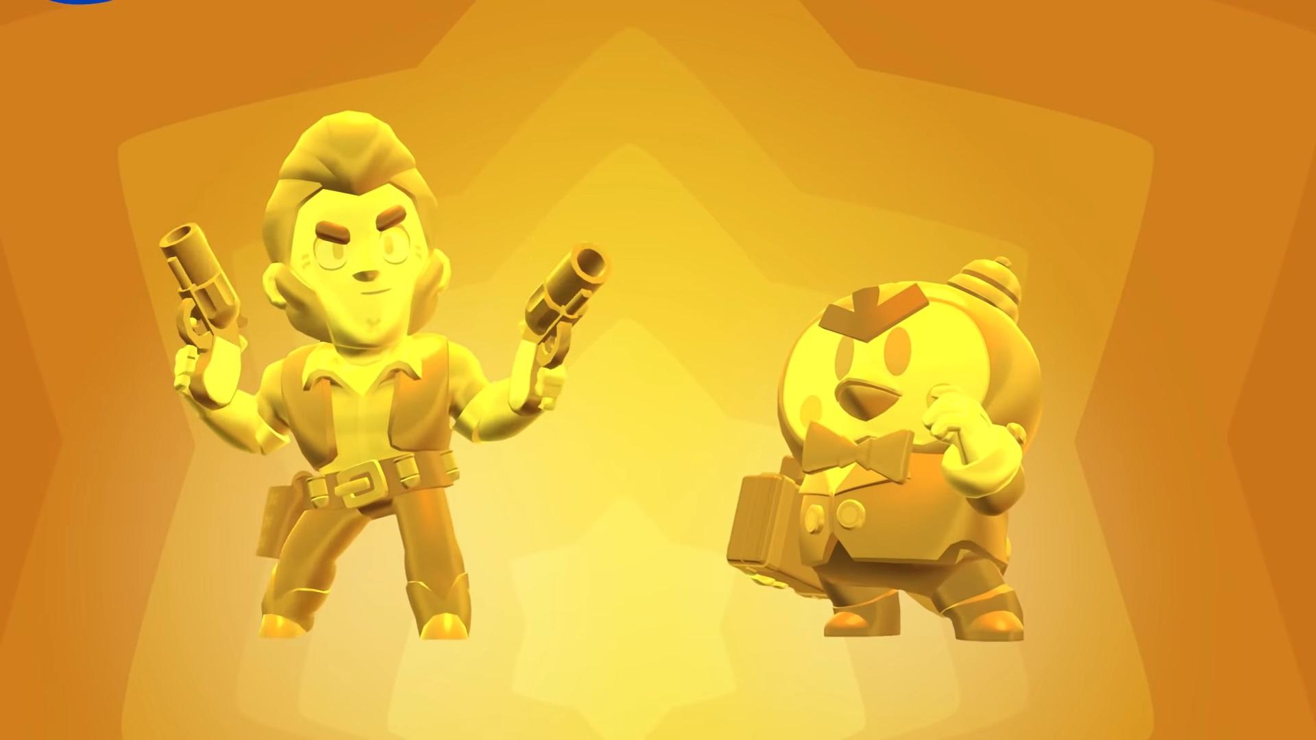 Skins doradas y plateadas de Colt y Señor P