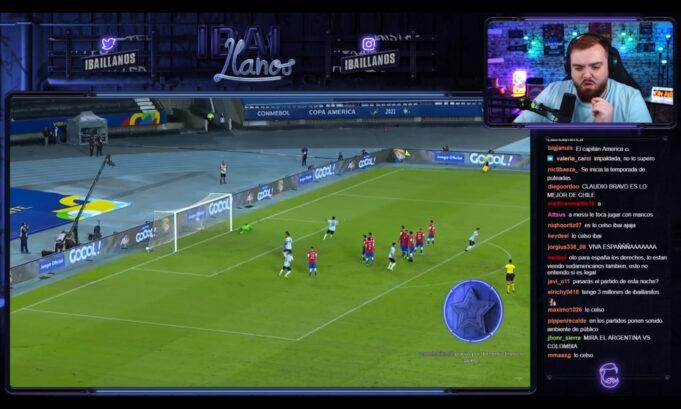 Copa América gratis ibai