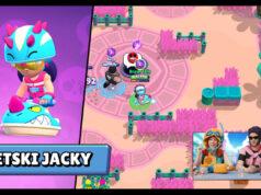 Jacky Moto Acuática skin liga estelar