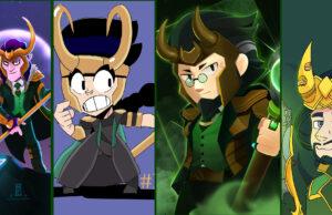 Loki skins Brawl Stars
