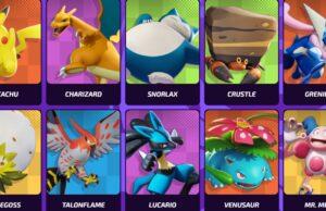 Los 19 iniciales de Pokémon Unite
