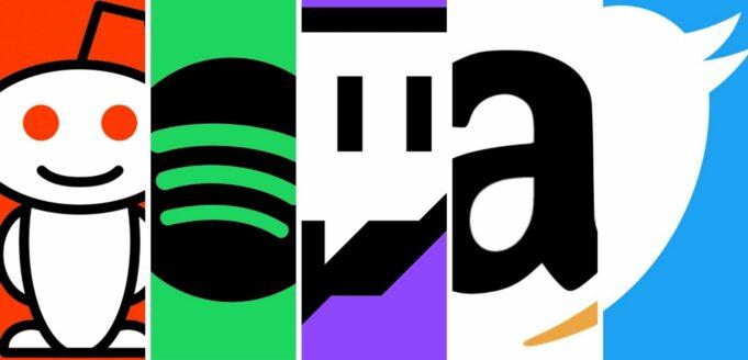 La caída de las grandes marcas de Internet