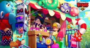 La tienda del Aquaparque Jurásico de Brawl Stars