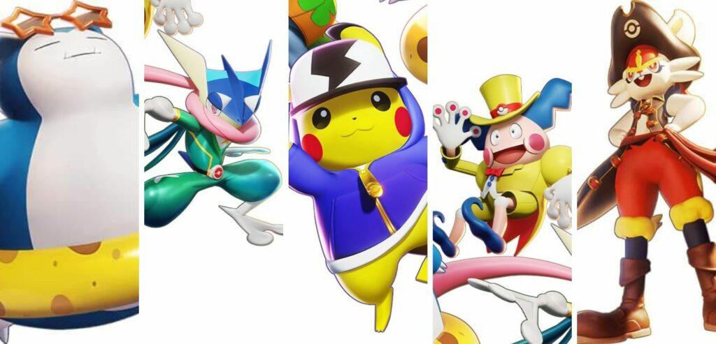 Las 9 Primeras Skins De Pokemon Unite Asi Son Las Holowear