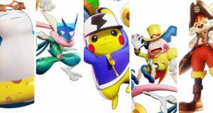 Las primeras skins de Pokémon Unite, las holowear