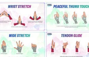 wild rift yoga para manos muñecas