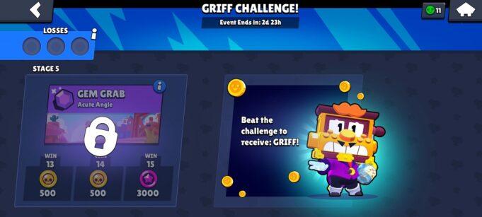 El desafío de Griff en Brawl Stars