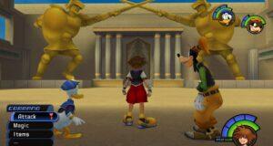 El coliseo de Kingdom Hearts