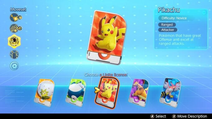 Pikachu, en Pokémon Unite