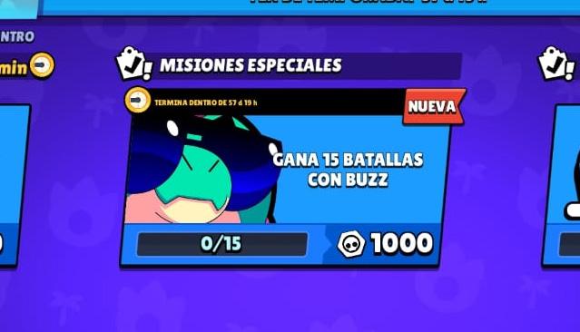 Buzz mision especial 1000 fichas