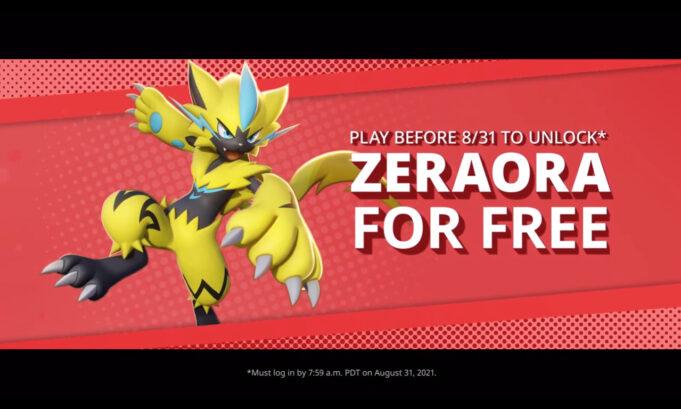 Pokemon Unite Zeraora