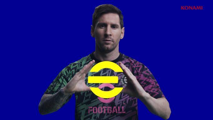 Messi en eFootball