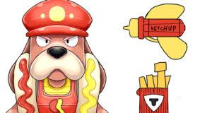 ruffs hot dog skin brawl stars