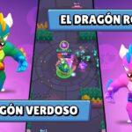 Dragon Verdoso y Rosado