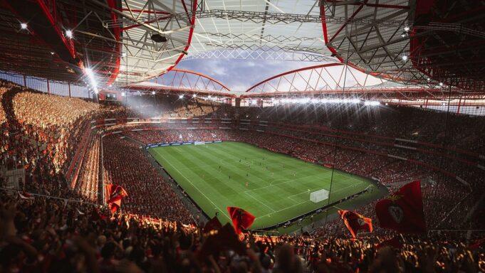 El estadio Da Luz, en FIFA 22