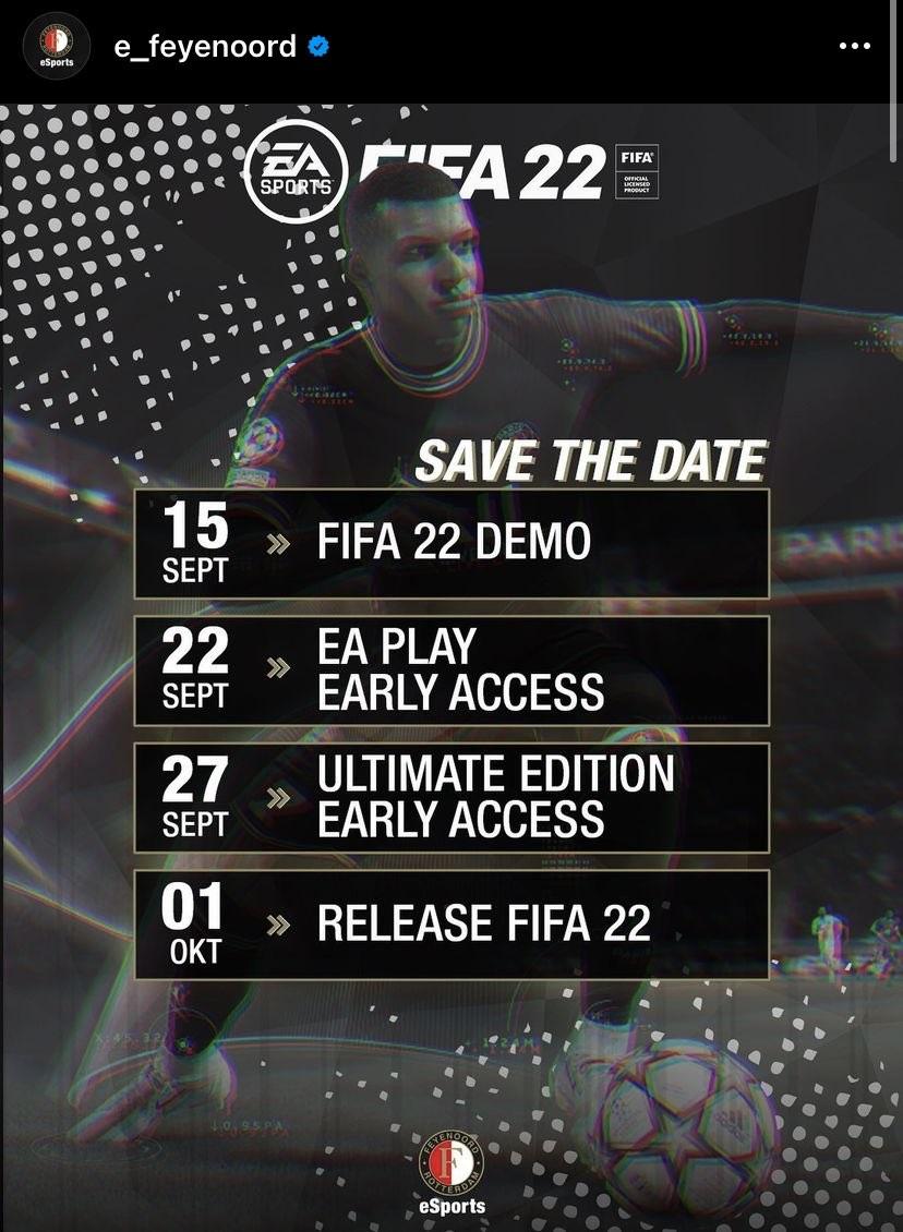 La filtración de la demo de FIFA 22
