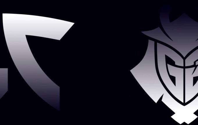Fnatic G2 Esports logos