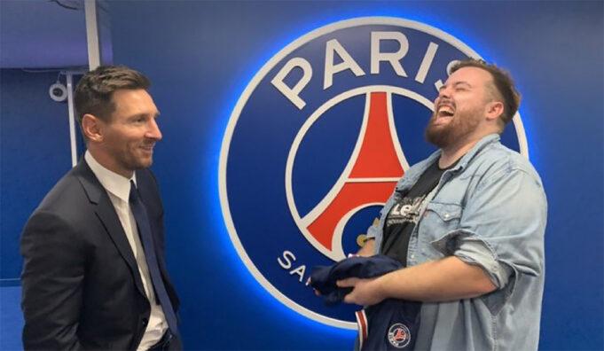 Ibai Messi PSG