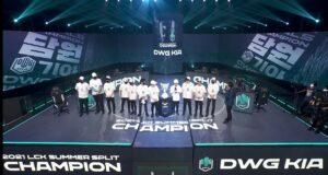 DWG KIA gana la final de la LCK