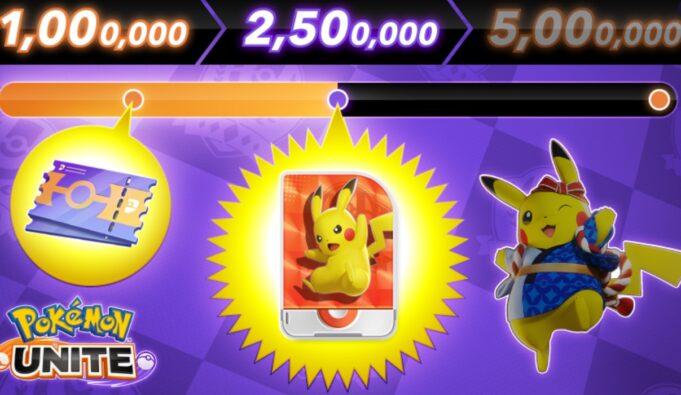 La licencia de Pikachu en Pokémon Unite
