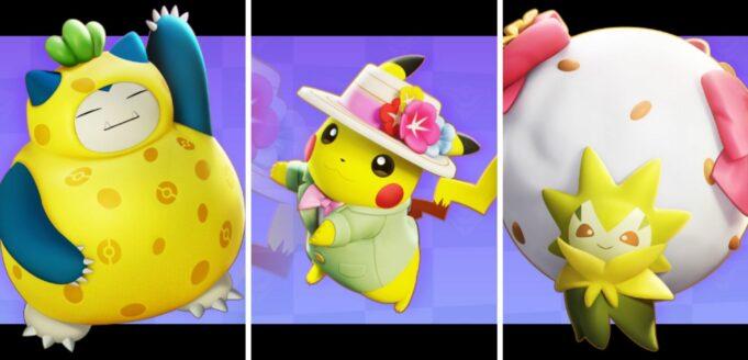 Las 3 nuevas skins de Pokémon Unite