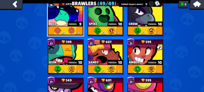 brawlers legendarios brawl stars