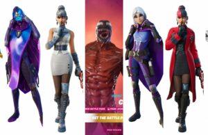 Todas las skins de la Temporada 8 - Capítulo 2 de Fortnite