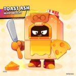 Ash con la skin de creador de pizzas