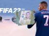 Mbappe, la primera carta de FIFA 22