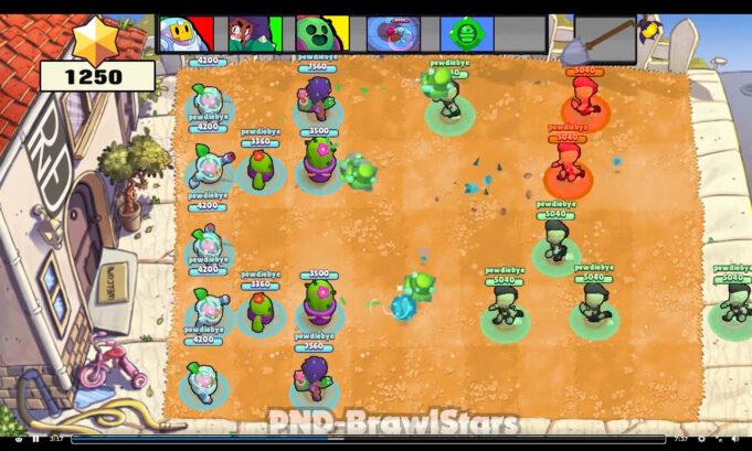 Plants vs Zombies Brawl Stars