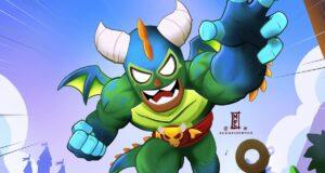 El Dragón Verdoso, la skin de El Primo en Brawl Stars
