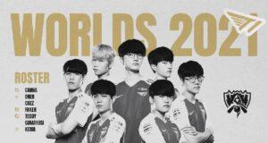 El roster de T1 para los Worlds 2021