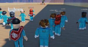 El juego del calamar, versión Roblox