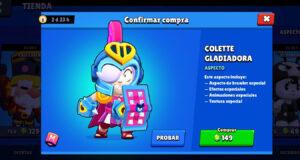 Colette Gladiadora brawl stars