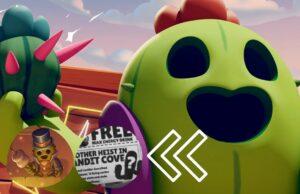 Spike, el simpático cactus de Brawl Stars