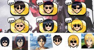 Los emotes de Ataque a los Titanes en Brawl Stars